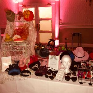 Jennifer's Hat Emporium with Domaine Des Jeanne at Lisa's Lust List Live Kilashee Hotel Naas - www.domainedesjeanne.ie