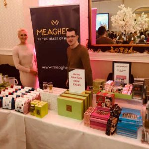 Meaghers Pharmacy with Domaine Des Jeanne at Lisa's Lust List Live Kilashee Hotel Naas - www.domainedesjeanne.ie