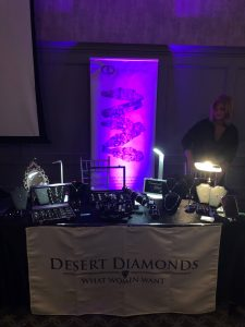 Desert Diamonds with Domaine Des Jeanne at Lisa's Lust List Live Kilashee Hotel Naas - www.domainedesjeanne.ie