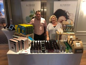Kreative Salon Supplies with Domaine Des Jeanne at Lisa's Lust List Live Kilashee Hotel Naas - www.domainedesjeanne.ie