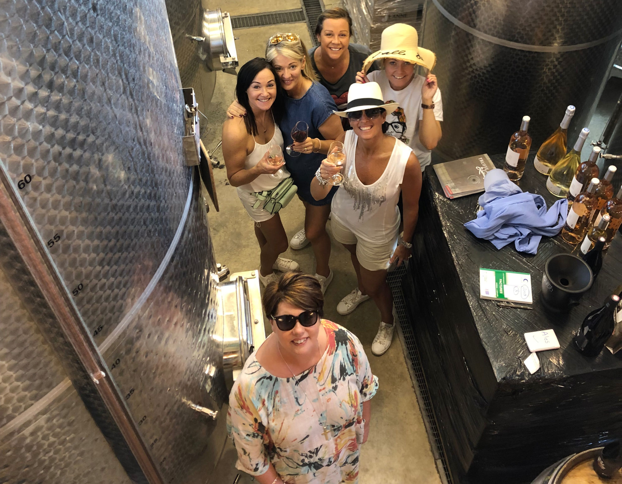 Wine Tasting in the Domaine Des Jeanne Cave